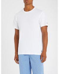 Polo Ralph Lauren - Crew Neck Cotton T-shirt - Lyst