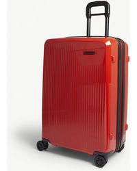 Briggs & Riley - Fire Red Stripe Sympatico Medium Expandable Four Wheel Suitcase - Lyst