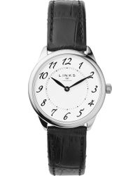 Links of London - 6010.2166 Narrative Stainless Steel And Leather Watch - Lyst