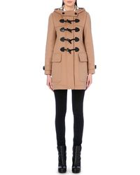 Burberry - Finsdale Wool Duffle Coat - Lyst