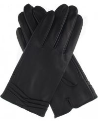 Dents - Layered Leather Gloves - Lyst