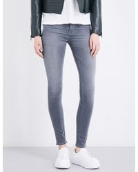 Hudson Jeans - Nico Skinny High-rise Jeans - Lyst