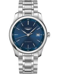Longines - L2.793.4.92.6 Master Stainless Steel Watch - Lyst