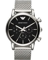 Emporio Armani - Ar1811 Stainless Steel Watch - Lyst