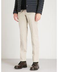 Slowear - Batavia Slim-fit Stretch-cotton Trousers - Lyst