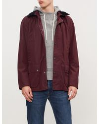 Barbour - Ashbrooke Hooded Shell Jacket - Lyst