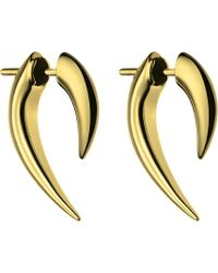 Shaun Leane - Sterling Silver And Gold Vermeil Talon Earrings - Lyst