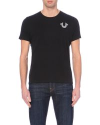 True Religion - Crafted With Pride Logo T-shirt - Lyst