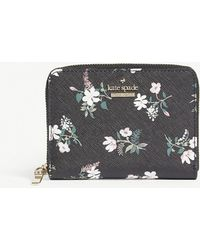 Kate Spade - Cameron Street Floral Leather Purse - Lyst