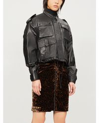 The Kooples - Flap-pocket Leather Jacket - Lyst