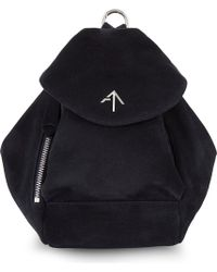 MANU Atelier | Mini Fernweh Suede Backpack | Lyst