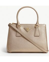Prada - Galleria Leather Tote - Lyst