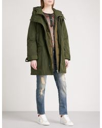 Zadig & Voltaire - Karly Quilted Shell Parka Coat - Lyst