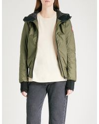 Canada Goose | Dore Hooded Shell-down Hoody | Lyst