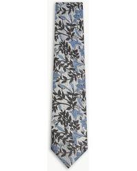 Duchamp - Lexi Floral Silk Tie - Lyst