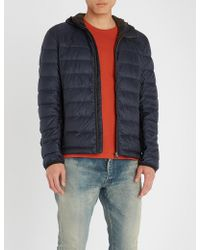 Belstaff - Redenhall Hooded Shell-down Jacket - Lyst