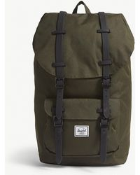 Herschel Supply Co. - . Green Little America Canvas Backpack - Lyst