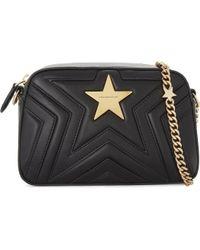 Stella McCartney - Star Faux-leather Cross-body Camera Bag - Lyst cd1bf129cf80e