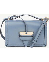 Loewe - Ladies Stone Blue Barcelona Leather Shoulder Bag - Lyst
