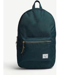 Herschel Supply Co. - . Deep Teal Blue Settlement Tonal Canvas Backpack - Lyst