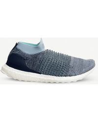 9a0eba689d5 Lyst - adidas Ultraboost Laceless Shoes in Blue for Men