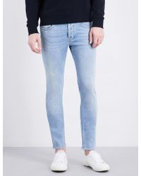 Sandro - Slim-fit Mid-rise Tapered Jeans - Lyst