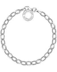 Thomas Sabo - Charm Club Sterling Silver Vintage Style Charm Bracelet - Lyst