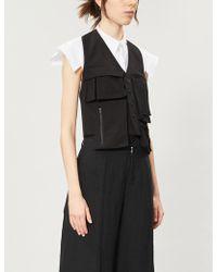 Yohji Yamamoto - Pocket-detail Cotton Jacket - Lyst