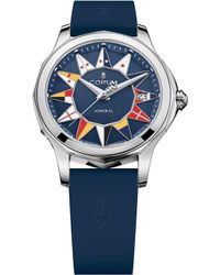 Corum - 082.200.20/0373 Admirals Cup Stainless Steel And Rubber Watch - Lyst