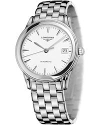 Longines - L4.774.4.12.6 Heritage Stainless Steel Watch - Lyst