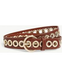 Sandro - Leather Belt - Lyst