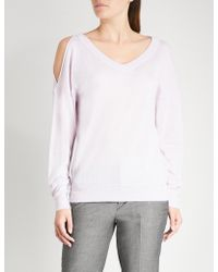 Zadig & Voltaire - Cut-out Cashmere Jumper - Lyst