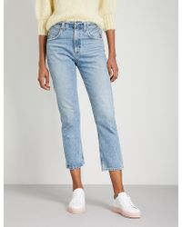 Agolde - Palmer High-rise Straight Jeans - Lyst