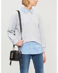 Claudie Pierlot - Taipei Embellished-collar Cotton-blend Sweatshirt - Lyst