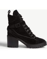 The Kooples - Velvet Steffy Boots - Lyst