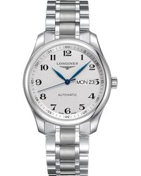Longines - L2.755.4.78.6 Master Collection Stainless Steel Watch - Lyst