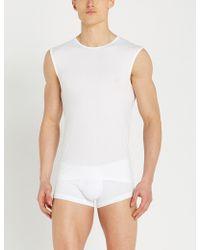 Ermenegildo Zegna - Solid Stretch-cotton Pyjama Vest - Lyst