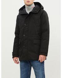 KENZO - Hooded Shell-down Puffer Coat - Lyst