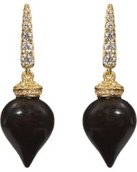 Annoushka - Touch Wood 18ct Yellow Gold - Lyst