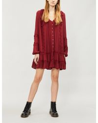 Free People - Snow Angel Woven Dress - Lyst