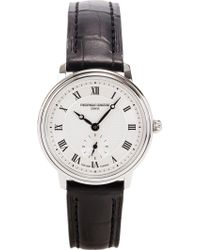 Frederique Constant - Fc235m1s6 Slim Line Automatic Watch - Lyst
