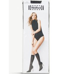 Wolford - Tess Knitted Jacquard Over-the-knee Socks - Lyst