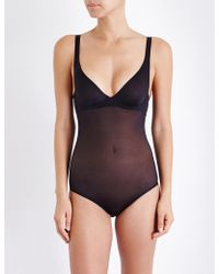 Wolford - Soft Touch Forming Bodysuit - Lyst