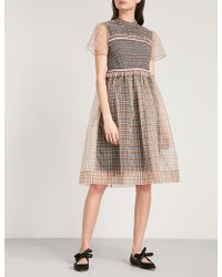 L'Orla - Ada Organza Smock Dress - Lyst