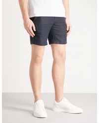 Sandro - Drawstring-waist Linen Shorts - Lyst