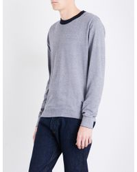 PS by Paul Smith - Striped Cotton Jumper - Lyst