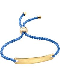 Monica Vinader - Havana 18ct Gold-plated Friendship Bracelet - Lyst