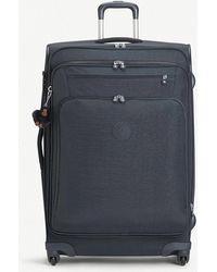 Kipling - Youri Large Expandable Four-wheel Suitcase 78cm - Lyst