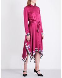 L.K.Bennett - L.k. Bennett X Preen Devoto Silk Dress - Lyst