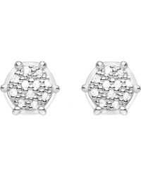 Thomas Sabo - Glam & Soul Sterling Silver And Diamond Earrings - Lyst